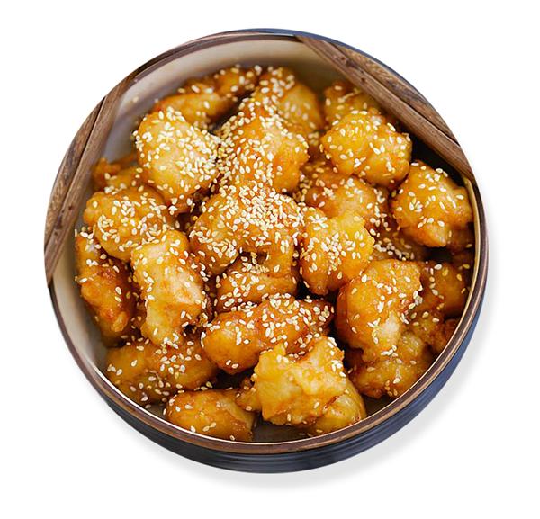 honey chicken with sesame