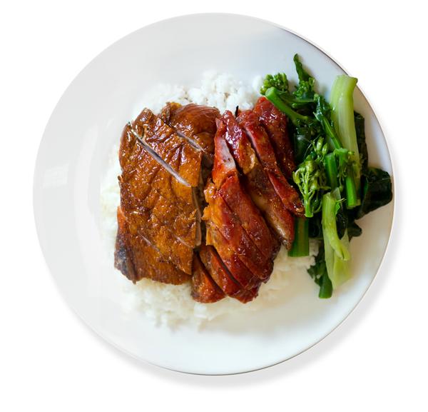 Roast duck chinese style